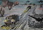 Стихи и рисунки детей о блокаде Ленинграда