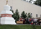 ГМВ требует от МЦР немедленного сноса буддийской ступы в центре Москвы.