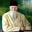 Портрет Н. К. Рериха. С. Н. Рерих. 1937. 77x108,7, холст, масло