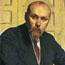 Николай Константинович Рерих. Б. М. Кустодиев. 1913 (фрагмент картины)