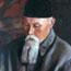 Портрет Н. К. Рериха. C. Н. Рерих. 1937. Х., м. 61,5х71. Аллахабадский муниципальный музей, Аллахабад, Индия