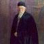 Портрет Н. К. Рериха. С. Н. Рерих. 1936. Холст, масло. 137x107 см. Музей Н. К. Рериха, Нью-Йорк