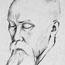 Николай Рерих. Рисунок Святослава Рериха.