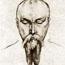 Портрет Н. К. Рериха. С. Н. Рерих. 1923 г.