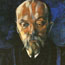 Портрет Н. К. Рериха. Б. Д. Григорьев. 1917