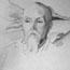 Портрет Н. К. Рериха. С. Н. Рерих. 23x24, бумага, карандаш