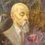 Портрет Н.К.Рериха, 1929 год. Д.Д.Бурлюк. Музей штат Пенсильвания, дар Кристиана Бринтона.