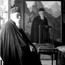 С. Н. Рерих. Фото Н. К. Рериха рядом с неизвестным портретом. Около 1939г.