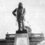 Фотография с открытия памятника полковнику Олкотту напротив ж/д вокзала в Коломбо, Цейлон.