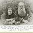 """Е. П. Блаватская и Г. С. Олкотт. Лондон, октябрь 1888. Фото с надписью опубликовано в """"Собрании сочинений"""", т. X"""