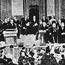 Всемирный Парламент религий. США, Чикаго. 1893. Слева в белом - А. Дхармапала.