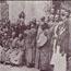 Олкотт в обществе цейлонцев. Коломбо, 1880 г.