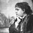 Е. П. Блаватская. Фото 1874 (выполнено фотографом-спиритуалистом). Фото подарено профессору Корнеллского ун-та Хираму Корсону.