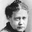 Е. П. Блаватская. 1875-1876. Фото выполнено неким Сарони в Нью-Йорке.