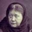 """Е. П. Блаватская - """"Сфинкс 19 столетия"""". Фото Энрико Реста. Лондон, 8 января 1889. Архив ТО в Англии."""