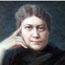Мэнли Палмер Холл. Портрет Блаватской (фрагмент).