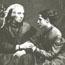 Анни Безант с матерью.