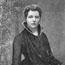 Анни Безант (1847-1933). Фотография Г. С. Мендельсона, Каткарт Роад, 27, Южный Кенсингтон, Лондон.