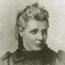 Анни Безант (1847-1933) в молодые годы.