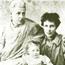 Анни Безант с родными.