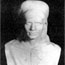Дамодар. Бюст, открытый в холле Штабквартиры в Адьяре, 24 декабря 1956.