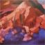 Закат в Гималаях. 1934