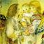 Посещение ребенка ангелами. 1937
