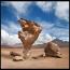 """Arbol de Piedra, """"дерево из камня"""", находится на плоскогорье в Южной Боливии."""