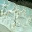 White Water Terraces (Белые Террасы), Китай.  Белые Террасы - живописное местечко, расположенное на реке Baishui, в провинции Юньнань, у подножия горы Хабасюэшань (Haba Snow).