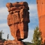 Balanced Rock (балансирующие скалы), Garden of the Gods — публичный парк в Колорадо-Спрингс, штат Колорадо, США.