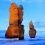 Двенадцать апостолов (англ. The Twelve Apostles) — группа известняковых скал в океане возле побережья в Национальном парке Порт-Кемпбелл, расположенных на т. н. Большой океанской дороге в австралийско