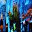 """Скала """"Тростниковая флейта""""(Reed Flute Cave). Китай Регион Гуйлинь расположен в северо-восточной части Гуанси-Чжуанского автономного района Китая на берегу реки Ли. Гуйлинь приобрел мировую славу свои"""