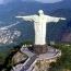 Скульптура Иисуса Христа, которая возвышается над городом Рио-де– Жанейро на горе Корковадо, имеет в высоту 38 метров.