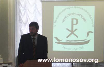 А.А. Ковалев, представитель ЗАКСа Санкт-Петербурга по образованию, культуре и науке