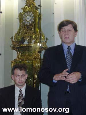 Н.В. Буров, председатель комитета по культуре Правительства Санкт-Петербурга