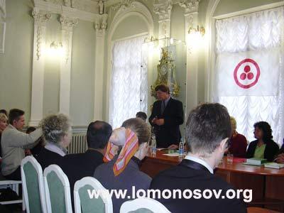 Н. В. Буров, председатель комитета по культуре Правительства Санкт-Петербурга