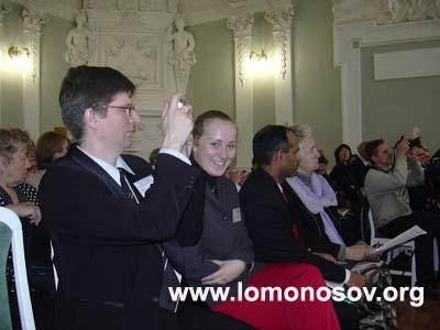 В. Л. Мельников в зале