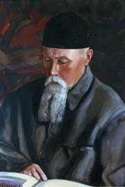 Святослав Рерих. Портрет Н. К. Рериха. 1937