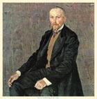 А. Я. Головин. Портрет Н. К. Рериха. 1907