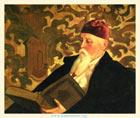С. Н. Рерих. Портрет Н. К. Рериха. 1934. Холст, масло. 75,5х91