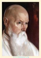 Святослав Рерих. Профессор Николай Рерих. 1944. Д., м., 45х34. ГМВ, Москва