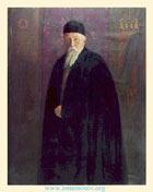 С. Н. Рерих. Портрет Н. К. Рериха. 1936. Холст, масло. 137x107 см. Музей Н. К. Рериха, Нью-Йорк