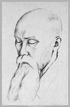 Николай Рерих. Рисунок Святослава Рериха