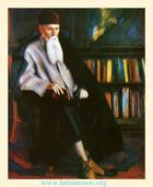 С. Н. Рерих.  Профессор Н. К. Рерих. 1942. Холст, масло. 140х122