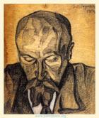Юрий Рерих. Портрет Н. К. Рериха. 1918 (Собрание МЦР)