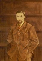 С. Н. Рерих. Портрет брата Юрия. 1932