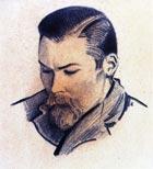 С. Н. Рерих. Портрет брата Юрия. Индия, 1930-е