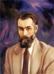 Святослав Рерих. Автопортрет. Недат. Х., м. 60х44,2. МЦР