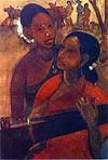 Амрита Шер Гил. Играющие на вине