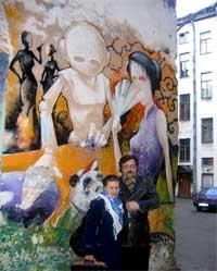 Ирина Горина, Иван Цыбин, Санкт-Петербург, 2007